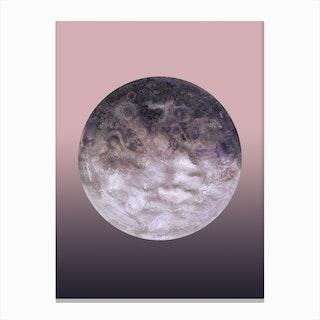 Quaoar Lilac Gradient Canvas Print
