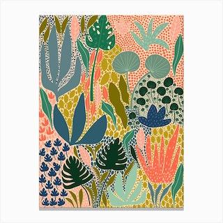 A Full Garden Canvas Print