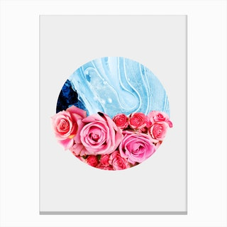 Unexpected Blossom Canvas Print