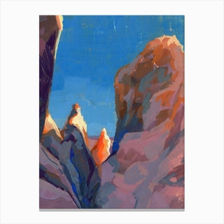 Joshua Tree Rocks Canvas Print