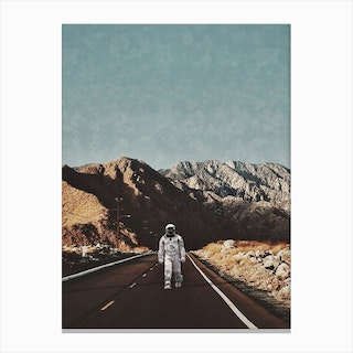 Wandering On Earth Canvas Print