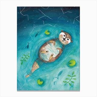 Marmot Dreams Canvas Print