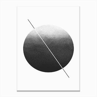 Dark Grain Canvas Print