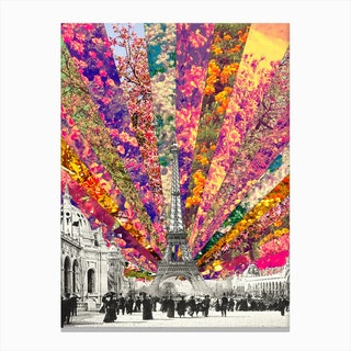 Vintage Paris in Canvas Print