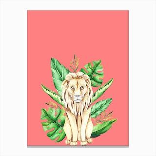 In the Jungle III Canvas Print