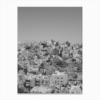 Stack Of Buildings Canvas Print