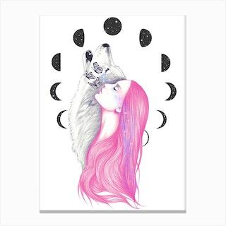 Moon Daze Canvas Print