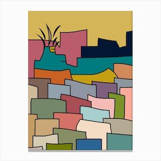 Central City Canvas Print