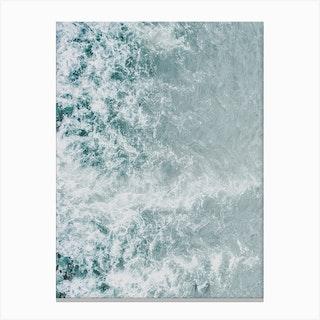 Ocean Foam I Canvas Print