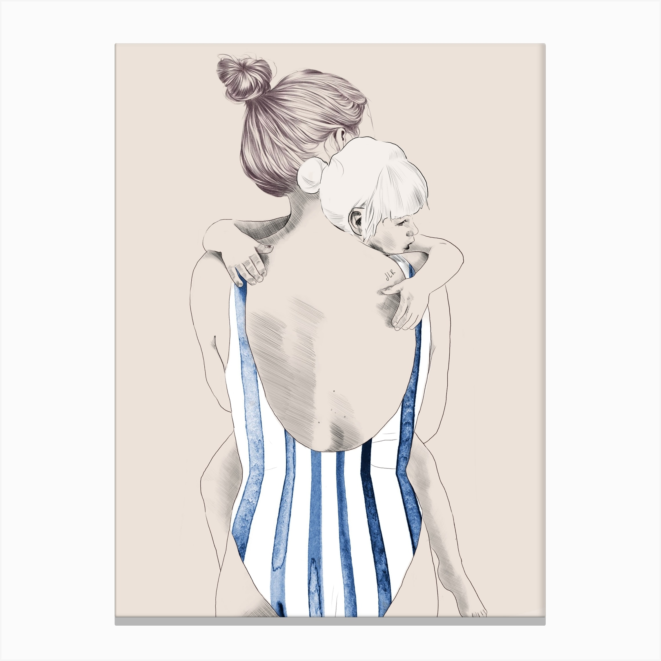 Shop Daughter Canvas Print from Iamfy on Openhaus