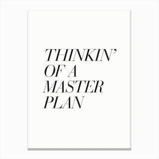 Masterplan Canvas Print