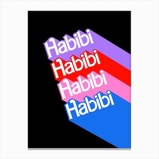 Barbie Habibi Canvas Print