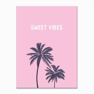 Sweet Vibes Canvas Print