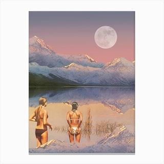 Moon Ritual Canvas Print