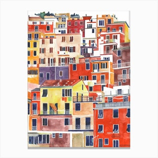 Cinqueterre Canvas Print