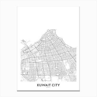 Kuwait City Canvas Print