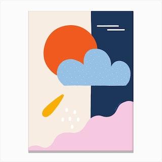 Ocean Skies Canvas Print