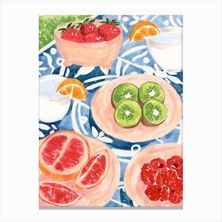 Summer Picnic Canvas Print