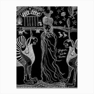 Iphigenie Canvas Print