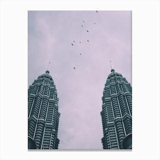 Petronas Twin Towers 4 Canvas Print