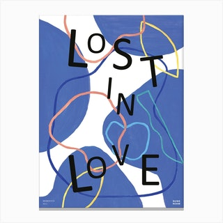 Lost In Love Canvas Print