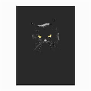 Puddy Cat Canvas Print