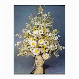 Floral Fashions Canvas Print