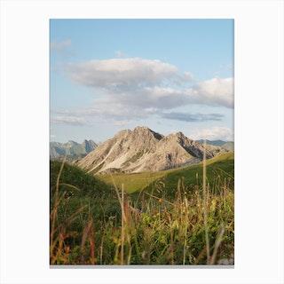 Mountain View 37 Canvas Print