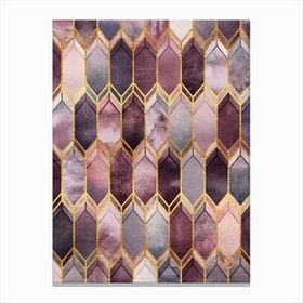 Dreamy Stained Glass Canvas Print
