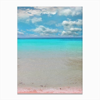 Tropical Paradise In Canvas Print