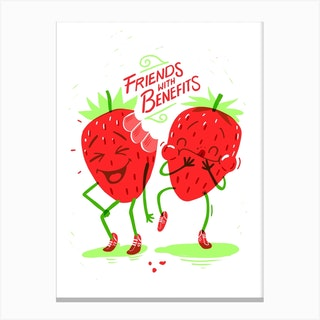 Friends With Benefits Canvas Print