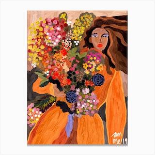 Autumnal Spring Canvas Print