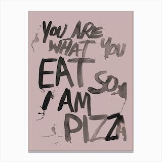 Pizza Main Canvas Print