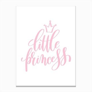 Little Princess Pink Canvas Print
