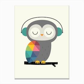 Owl Time Canvas Print