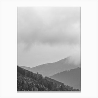 Layered Mountains Canvas Print