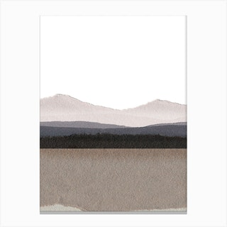 Paper Land Un  Canvas Print