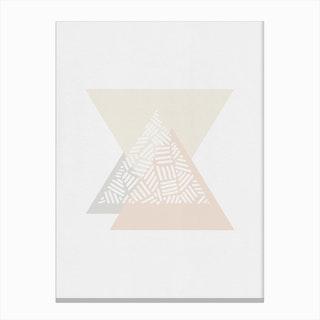 Minimalist Geometric IV Canvas Print