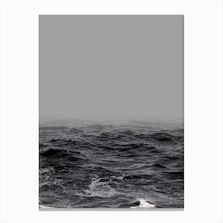 Ocean Wave X Canvas Print