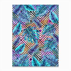 Tropical IX Canvas Print