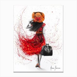 Roaming Ramona Canvas Print