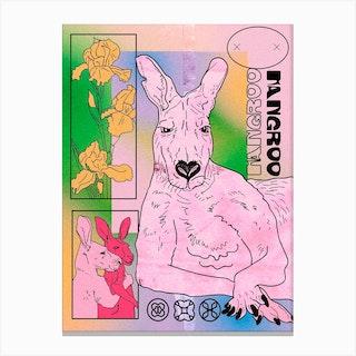 Kangroo Canvas Print