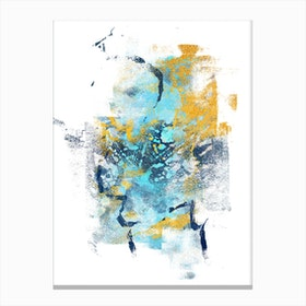 Element Metamorphosis  Abstract Painting IV Canvas Print