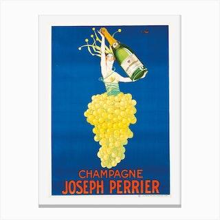 Joseph Perrier Champagne Canvas Print