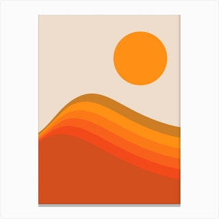 Harvest Wave Canvas Print