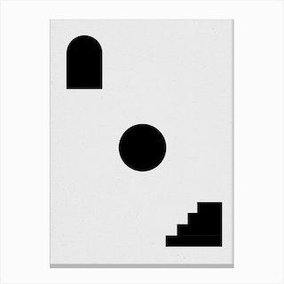 Shapes 02 Canvas Print