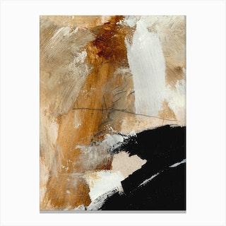 Underneath Canvas Print