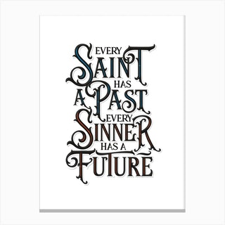 Saint Sinner Canvas Print
