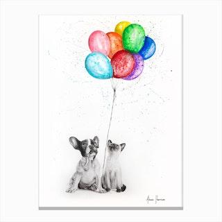 The Eight Balloons 2 Canvas Print