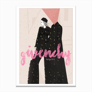 Givenchy Canvas Print